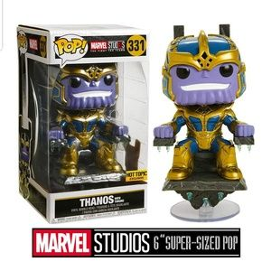 Exclusive Thanos on the Throne Funko Pop